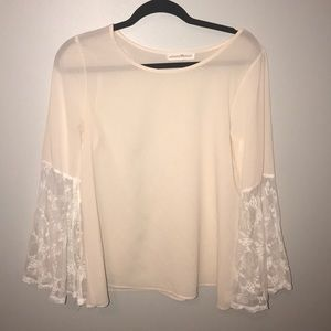 Altard state bell sleeve Lacey blouse